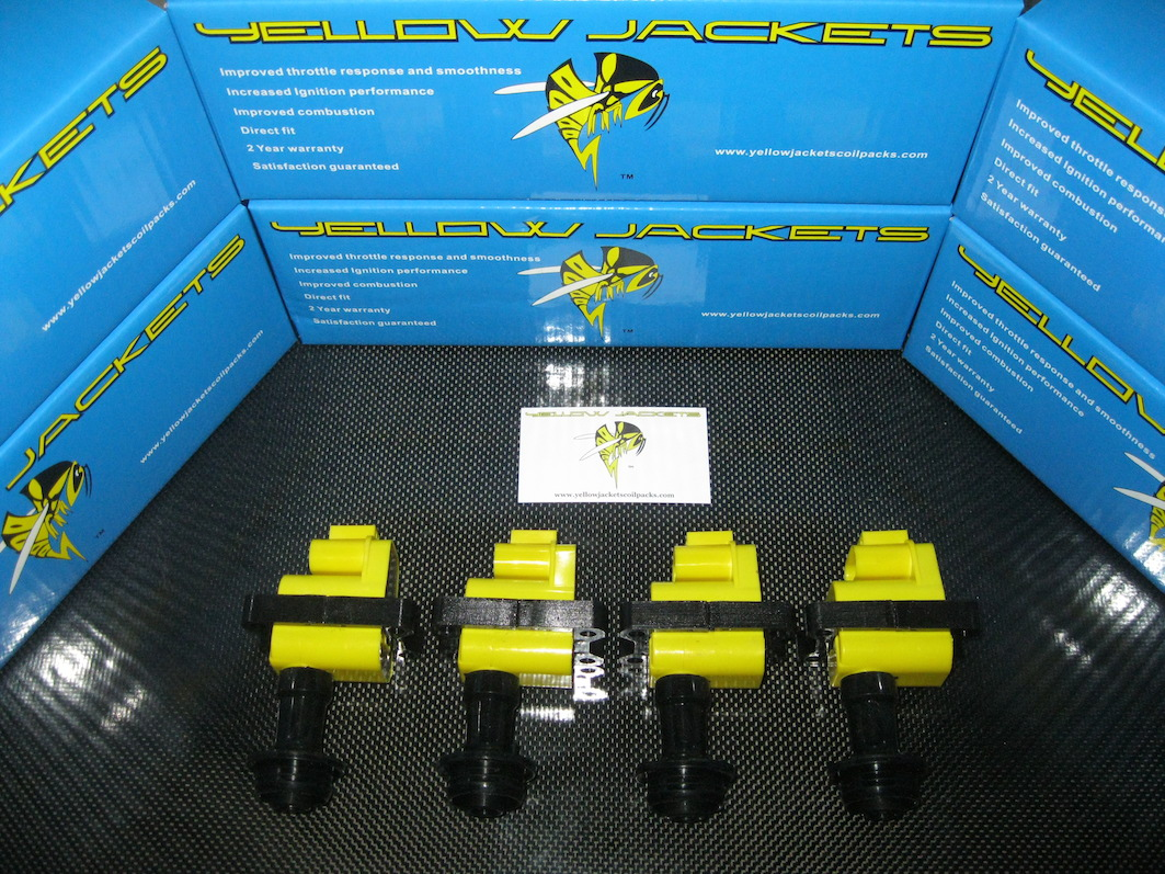 NISSAN - YELLOW JACKETS COIL PACKS - YJ-CA18